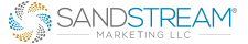 SandStream® – Digital Marketing Services – Targeted Lead Generation, Email, SEM, Data & Creative Services Logo